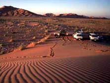 Arabien, Oman-Expeditionen - Lager in der Rub al Khali